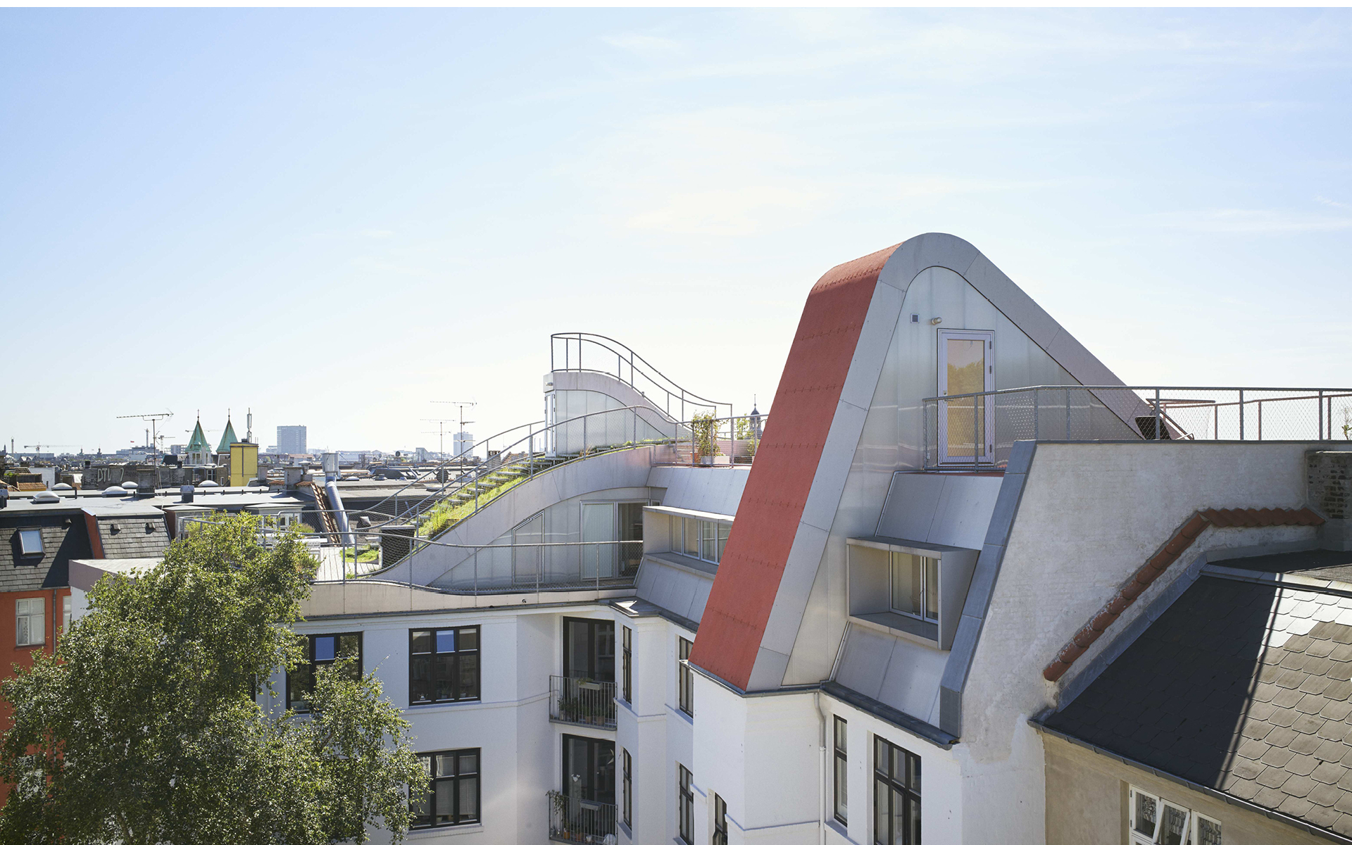 Jds Architects Hedonistic Rooftop Penthouses