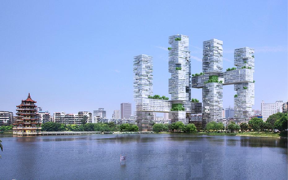 Jds Architects Wuhan Mikado