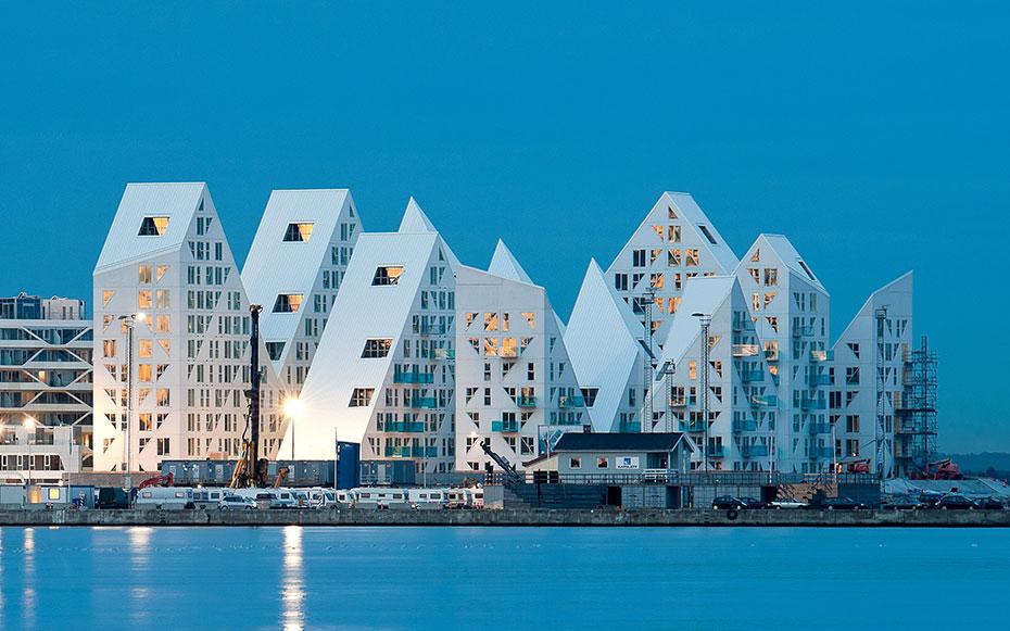 iceberg edificios viviendas aarhus dinamarca 1