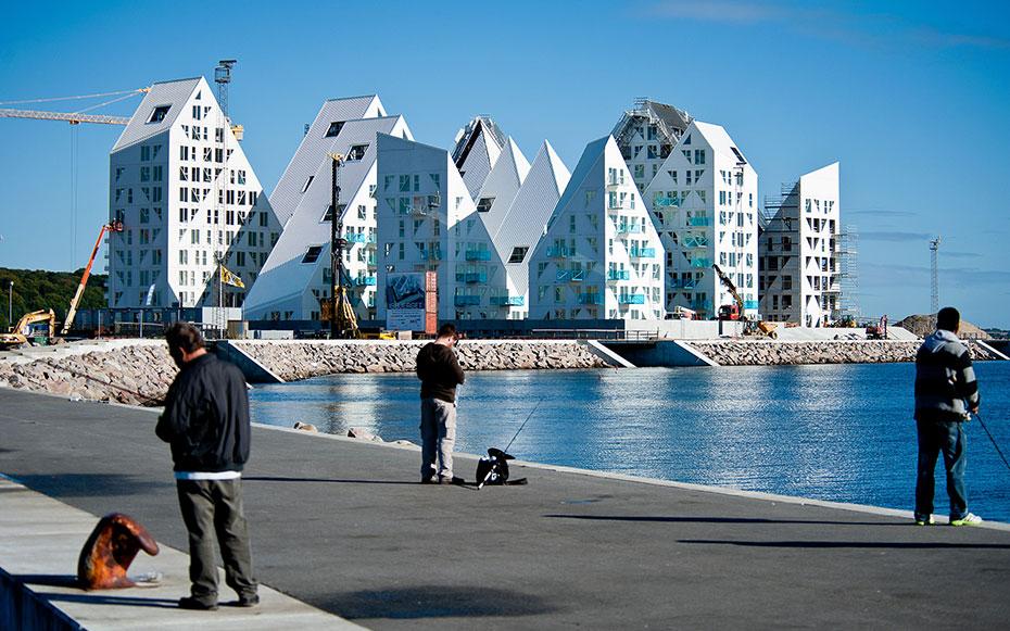 iceberg edificios viviendas aarhus dinamarca 2